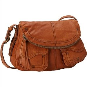 Lucky Brand Lamb Leather Hobo Shoulder Bag